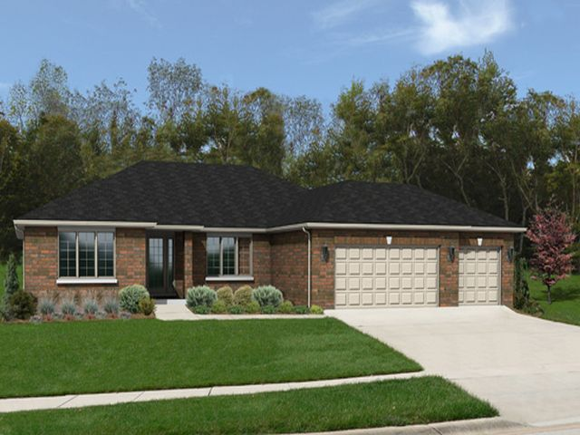 Ranch model homes illinois