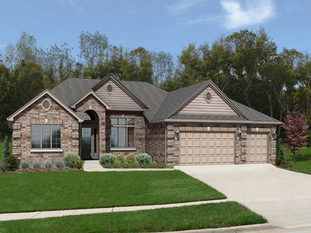 The bristol model camelot homes inc custom home for Classic ranch homes